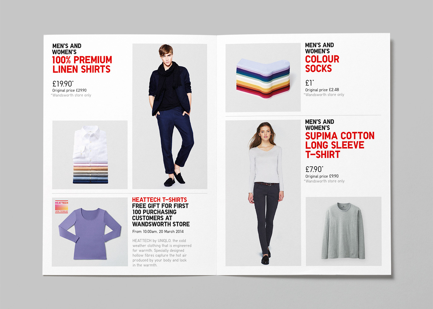 Uniqlo Retail Design In London And Europe Parallel
